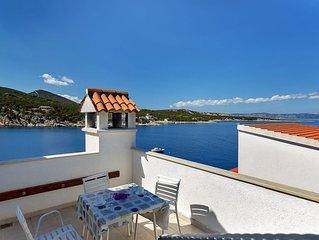 Ferienwohnung Igor  C(4+3)  - Bucht Pokrivenik, Insel Hvar, Kroatien