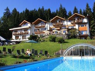 Das Paradies bei Kitzbühel - Wohnung 'Kitzbühel' im Gartenhotel Rosenhof