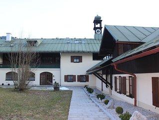EG-Wohnung mit Terrasse und Garten im Dorf Königssee