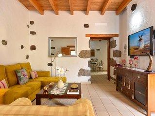 Ferienhaus Los Algodones Cottage with Pool in Ingenio - 8 Personen, 4 Schlafzimm