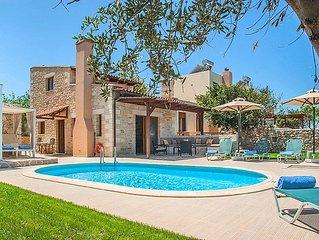 Ferienhaus Villa Nikos in Stavromenos, Rethymno - 5 Personen, 3 Schlafzimmer