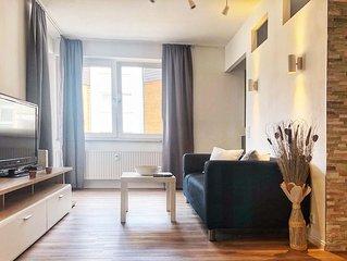 WU01 Gemutliches Apartment mit Balkon und Tiefgaragenstellplatz