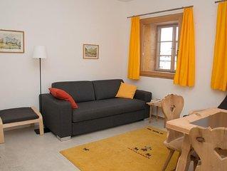 Ferienwohnung Sent fur 2 - 3 Personen mit 1 Schlafzimmer - Ferienwohnung in Ein-