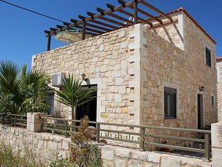Ferienhaus nah zum schönen weitläufigen Strand, Wifi   Analipsi, Kreta