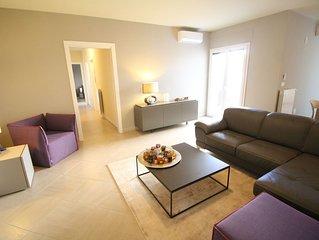 Traumhafte Urlaubs-Wohnung, 3.5 Zimmer, 2 Schlafzimmer, 2 Bäder, Küche, Waschen