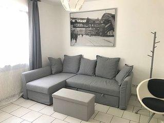 Moblierte ein Zimmer Ferienwohnung mit Kuche Bad