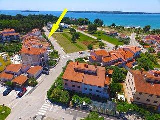 Ferienwohnung Fažana für 2 - 3 Personen mit 1 Schlafzimmer - Ferienwohnung