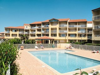 Ferienwohnung Residence Alizea (VLR113) in Valras Plage - 6 Personen, 2 Schlafzi