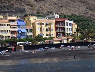Ferienwohnung für 2 Personen direkt am Strand von Tazacorte