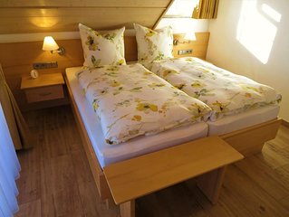 Ferienwohnung Typ B1, 50qm, 1 Schlafzimmer, max. 2 Personen