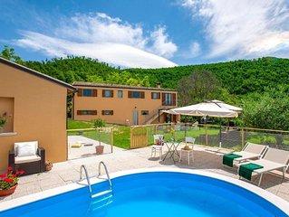 Ferienhaus Cartoceto für 8 - 9 Personen mit 3 Schlafzimmern - Ferienhaus