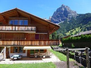 Ferienwohnung Laerchehus in Kandersteg - 6 Personen, 2 Schlafzimmer