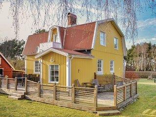 4 Zimmer Unterkunft in Sölvesborg
