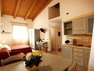 Ferienwohnung Cesenatico für 1 - 3 Personen - Ferienwohnung in Bauernhaus