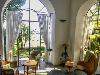 "Villa 'MARCELLO'; 400 Jahre alte Olmuhle, freier Blick auf""s Meer"