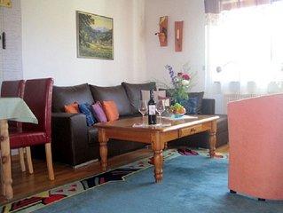 Ferienwohnung, 70 qm, 2 Schlafzimmer, max. 4 Erwachsene und 1 Kind
