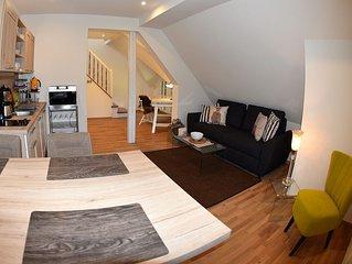 Maisonettewohnung, 40qm, 1 Schlafzimmer, max. 4 Personen