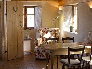 Appartement Getreidekasten im 1. Obergeschoss mit einem Schlafzimmer mit Dusche