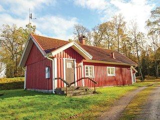 2 Zimmer Unterkunft in Hästveda