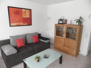 sonnige 2-Zimmer-Wohnung, SW-Balkon, ruhig und sehr zentral gelege