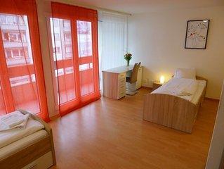 Ferienwohnung BHMS City Campus in Luzern - 3 Personen, 1 Schlafzimmer