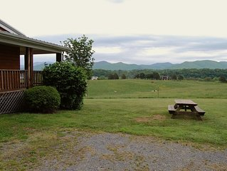 Luxury Cabin * River's Bend Ranch; river access & trail rides available on site.