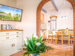 Ferienhaus in Werdum für 6 Personen, Garten, WLAN