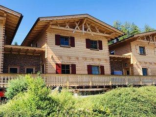 Urlaub im Bio Holzhaus - im Einklang mit der Natur