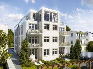 **** Sterne DTV neue Komfort 2-Zi-FW, ruhige S/W-Terrasse/Garten, Wilhelmstrasse