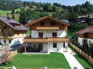 'Apartment Pinzgau' mit Terrasse und direktem Zugang zum Garten für 4-5 Personen