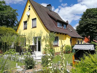 schöne Alternative zur Touristenhochburg: Fehaus f Fam+Hund+Garten+See+Kamin