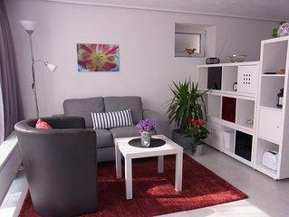 *** Apartment, modern, gemutlich, ruhige Lage, VRM Gasteticket incl.