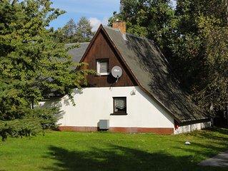 'Ferienhaus Antje' direkt am Fliess, Spreewaldhof Schupan in Burg (Spreewald)