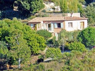 Trois pieces dans villa provencale avec jardin proche mer