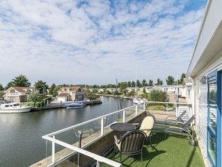 Luxus Villa Lisdodde am Wasser, 130m², 6 Pers, Hunde OK, 3 PKW, Anlegeplatz 20m.