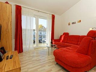 Modern eingerichtete Wohnungen für max. 5 Pers., wenige Minuten bis zum Strand