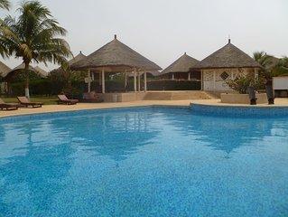 Trés jolie villa à louer dans un domaine privé