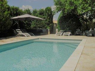 gîte de charme dans mas provençal avec  piscine et SPA