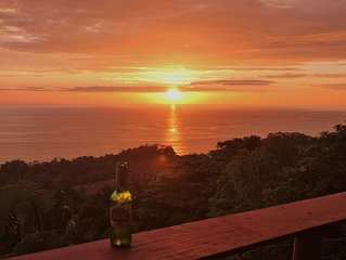 Eco Tent Lodge with Amazing Whales Tail Ocean Views and Pristine Jungle