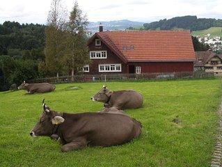 Gemütliches altes Appenzeller Bauernhaus zum Alleinbewohnen