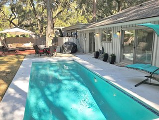 New Rental - Spectacular Two Bed Home in Sea Pines with Private Pool and Hot Tub