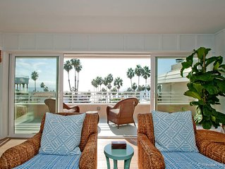 COOPED UP?? WHY NOT ENJOY THE PEACE AND VIEW OF THE OCEAN WAVES?