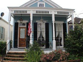 19th Century New Orleans Shot Gun House