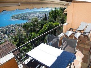 Charmante 1,5-Zimmer Wohnung mit wunderschöner Seesicht und eigenem Einstellplat