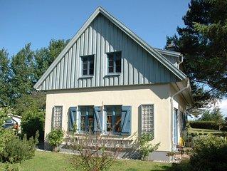 Idyllisches Ferienhaus (75 qm) bis 4 Pers. mit Garten in Strandnähe