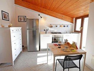 Ferienwohnung Tortoreto für 4 Personen mit 1 Schlafzimmer - Penthouse-Ferienwohn