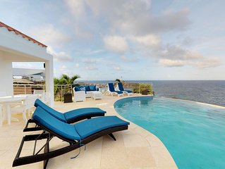 Villa SummerWinds Oyster Pond 4BR View on St Barth, Infinity pool with Luxury