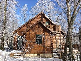 Mountain Cabin at Wintergreen. 4 bdrm/2 bath.  Sleeps 8, Member Passes!!