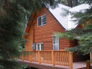 Luxury Yosemite Log Cabin ~ 2 Miles to Yosemite Entrance