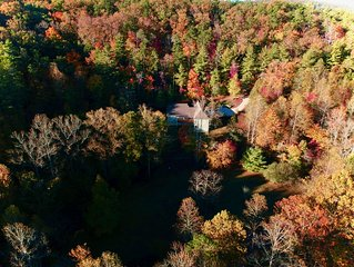 Beautiful Mountain House Historic Yahoola Creek and Cherokee National Forest